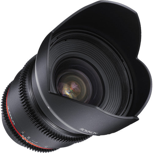 Rokinon Cine DS 16mm T2.2 Cine Lens for Canon EF-S