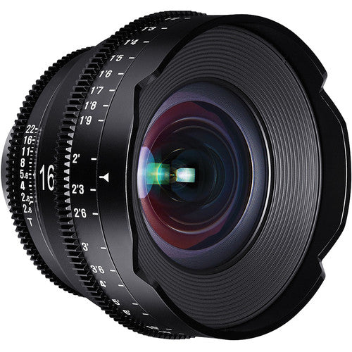 ROKINON XEEN  16mm T2.6 Professional Cine Lens for PL Mount