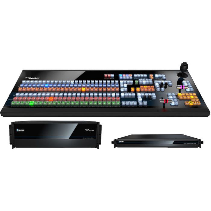NewTek TriCaster TC1 MAX Bundle with Large Control Panel and Redundant Power