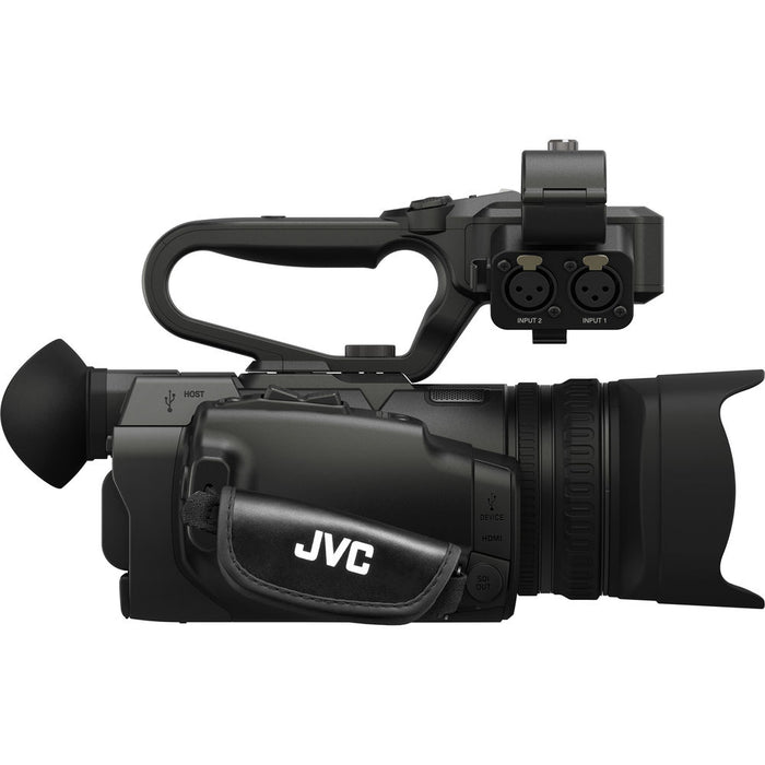 JVC GY-HM200SPU 4KCAM Compact Handheld Streaming Camcorder