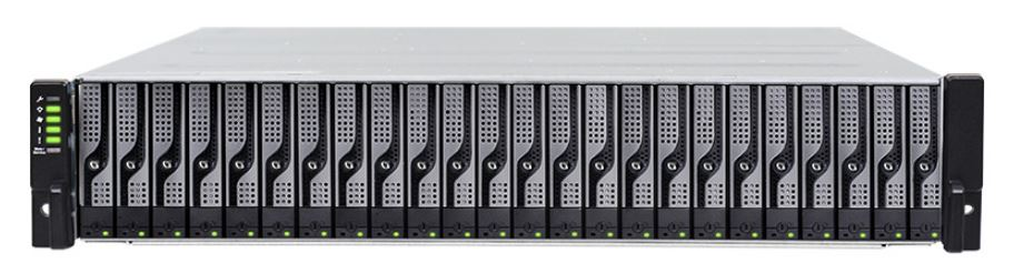 Fully populated JB3025RBA bundled with 25x 1.6TB SAS 12GB/s SSD DWPD=1