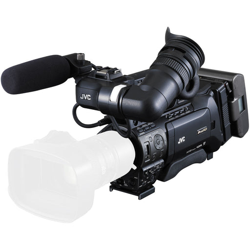 "JVC GYHM850C14 1/3"" ProHD Shoulder Mount Camcorder with 14x ENG Zoom Lens"