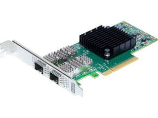 Dual Channel 25GbE x8 PCIe 3.0, Low Profile, SFP28