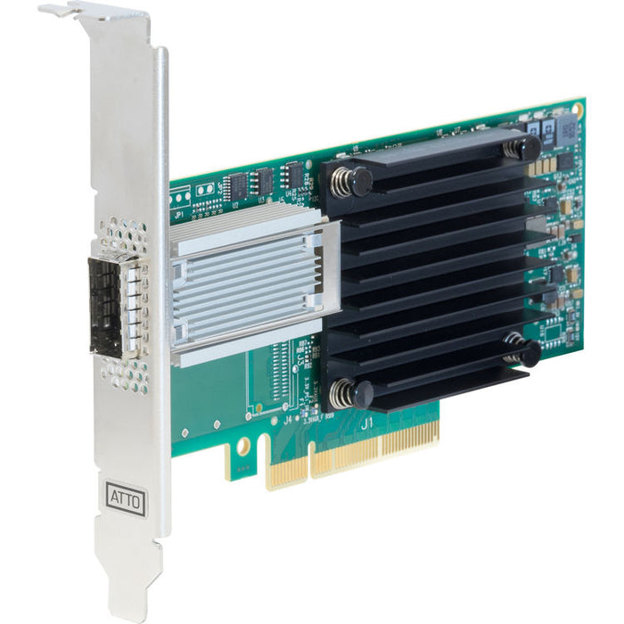 Single Channel 25/40/50GbE x8 PCIe 3.0, Low Profile, QSFP28