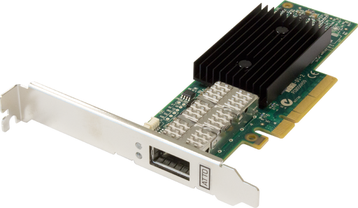 Single Channel 40GbE to x8 PCIe 3.0 Ethernet Adapter, Low Profile, 30m