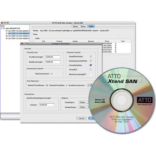 Xtend SAN iSCSI Initiator software, 10 User license