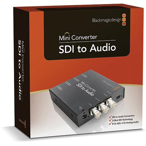 Blackmagic Design SDI to Audio Mini Converter