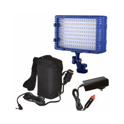 Bescor LED144 Light & External Battery Kit