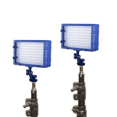 Bescor Dual LED144 Studio Lighting Kit