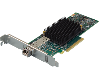 Single Channel 16Gb Gen 6 FC to x8 PCIe 3.0 Host Bus Adapter, Low Prof