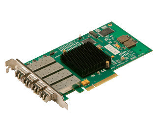 Quad Channel 8Gb FC to x8 PCIe 2.0 Host Bus Adapter, Full Height, LC S