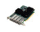 Quad Channel 32Gb Gen 6 FC to x16 PCIe 3.0 Host Bus Adapter, Full Heig