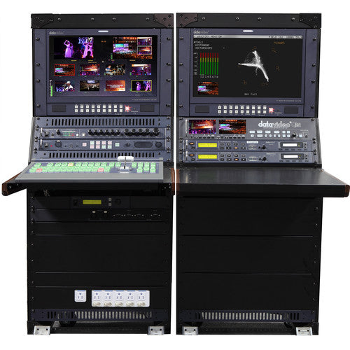 Datavideo SE-2850 8-Channel HD/SD-SDI Video Switcher Mobile Studio