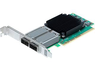 Dual Channel 25/40/50/100GbE x16 PCIe 3.0, Low Profile, QSFP28
