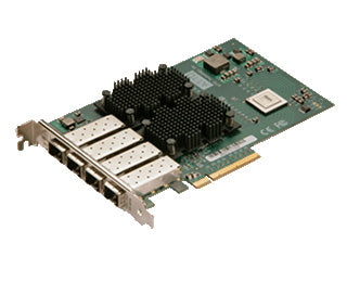 Quad Channel 10GbE to x8 PCIe 2.0 Ethernet Adapter, Full Height, LC SF