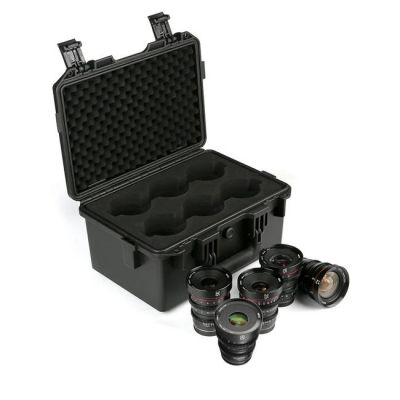 Meike Cinema Prime 5-Lens Kit MFT with Hard Case (12mm, 16mm, 25mm, 35mm, 50mm)