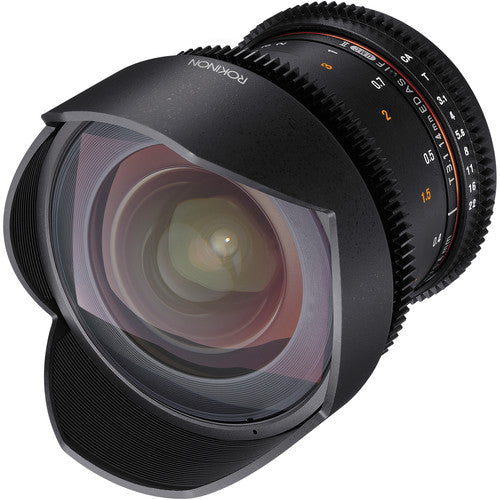 Rokinon DS 14mm T3.1 Cine Lens for Canon EF