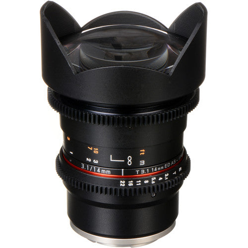 Rokinon DS 14mm T3.1 Cine Lens for Sony E