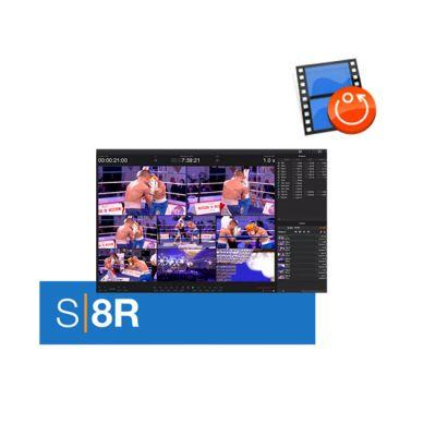 Softron S|8R (8 Channels Instant Replay, Dongle Included)