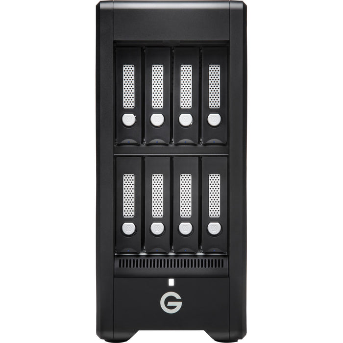 G-Technology G-SPEED Shuttle XL 48TB 8-Bay Thunderbolt 3 RAID Array with Two ev Bay Adapters (6 x 8TB)