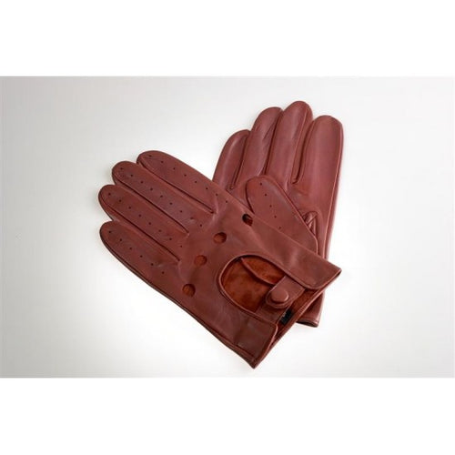 Driving Gloves Leather, Brown - Smith & Canova