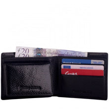 Wallet Leather Black - Smith & Canova