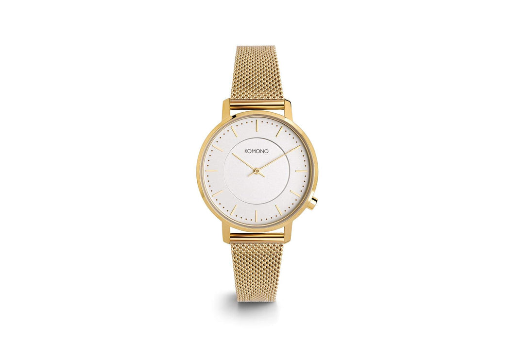 Harlow Watch Gold Mesh - KOMONO