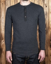 Henley Shirt Long sleeve, Iron Grey - Pike Brothers