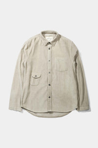 Bayden Corduroy Overshirt, Grey - Native North