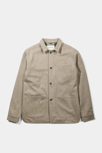 Wool Utility Jacket, Dirt - Native North