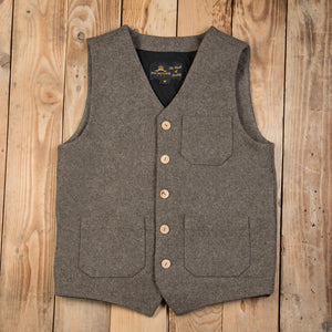 1937 Roamer Vest Wool - Pike Brothers