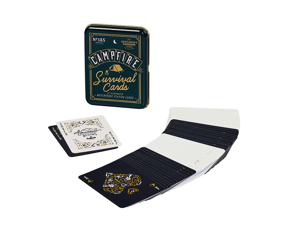 Survival Playing Cards - Gentlemens Hardware