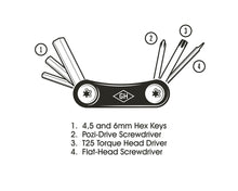 Bike Repair pocket tool- Gentlemens Hardware
