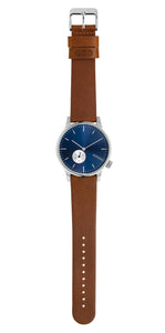 Watch, Winston Subs Blue Cognac - KOMONO