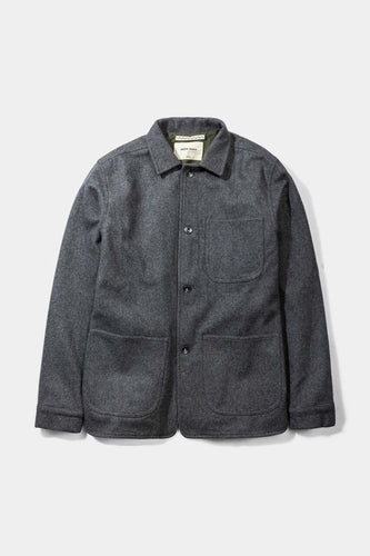 Wool Utility Jacket, Grey - Native North