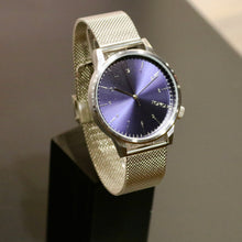 KOMONO watch - Winston Silver/Blue
