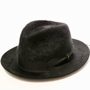 Borsalino Fur Felt black Furry