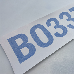 Boat Registration Numbers - Set of x2