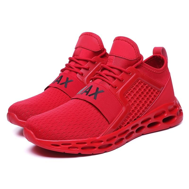 Cushion - Sports Sneakers - Red / 7.5 (US) 7 (UK) - Running Shoes