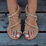 Leyla - Dreamy Summer Sandals - UK:3 / US:4 / EU:34 - Sandalias de las mujeres