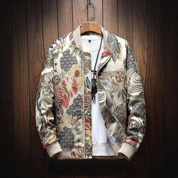 Shogun - Japanese Embroidered Bomber - M (8-10 US) (10 UK) - Jacken