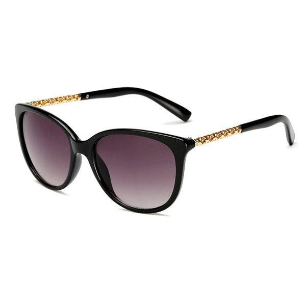 The Glam - Hot Sunglasses - Black/Grey