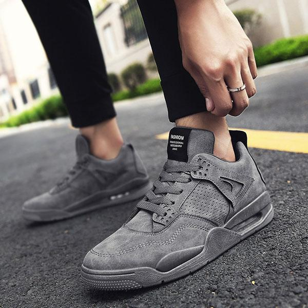 The Runner - Ultra Comfortable Sneakers - Gray / UK: 6 / US: 7 / EU: 39