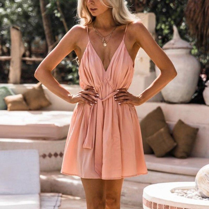 Valentine - Stunning Summer Dress - Apricot / S (4-6 US) (8 UK) - Kleider