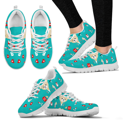 Blue Bear Nurse Women's Sneakers