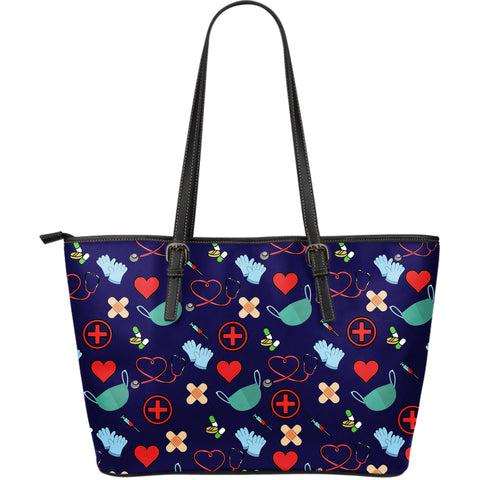 Sac en Cuir NURSING Tote Bag