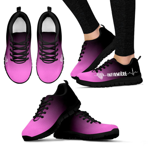 retail prices latest design coupon code Chaussures SNEAKERS Légères Pink IDE