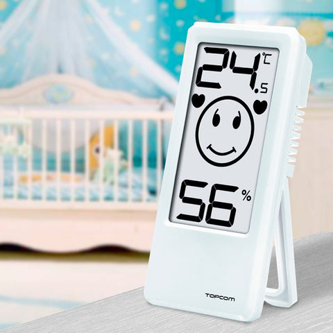 TopCom TH4675 Room Thermometer and Hygrometer