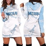 Baygirl Forever Blue Hoodie Dress