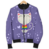 I Like Pussy Deal With It Bomber Jacket